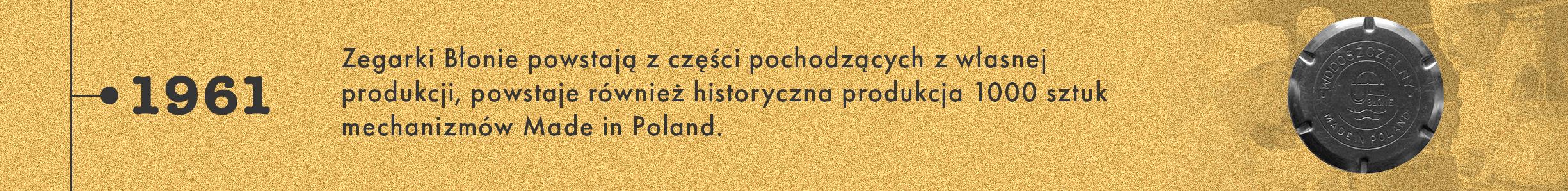 historia marki Błonie